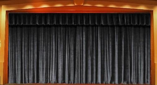 telon de teatro clásico urpettio
