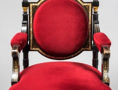 butacas clásicas para palcos de teatros